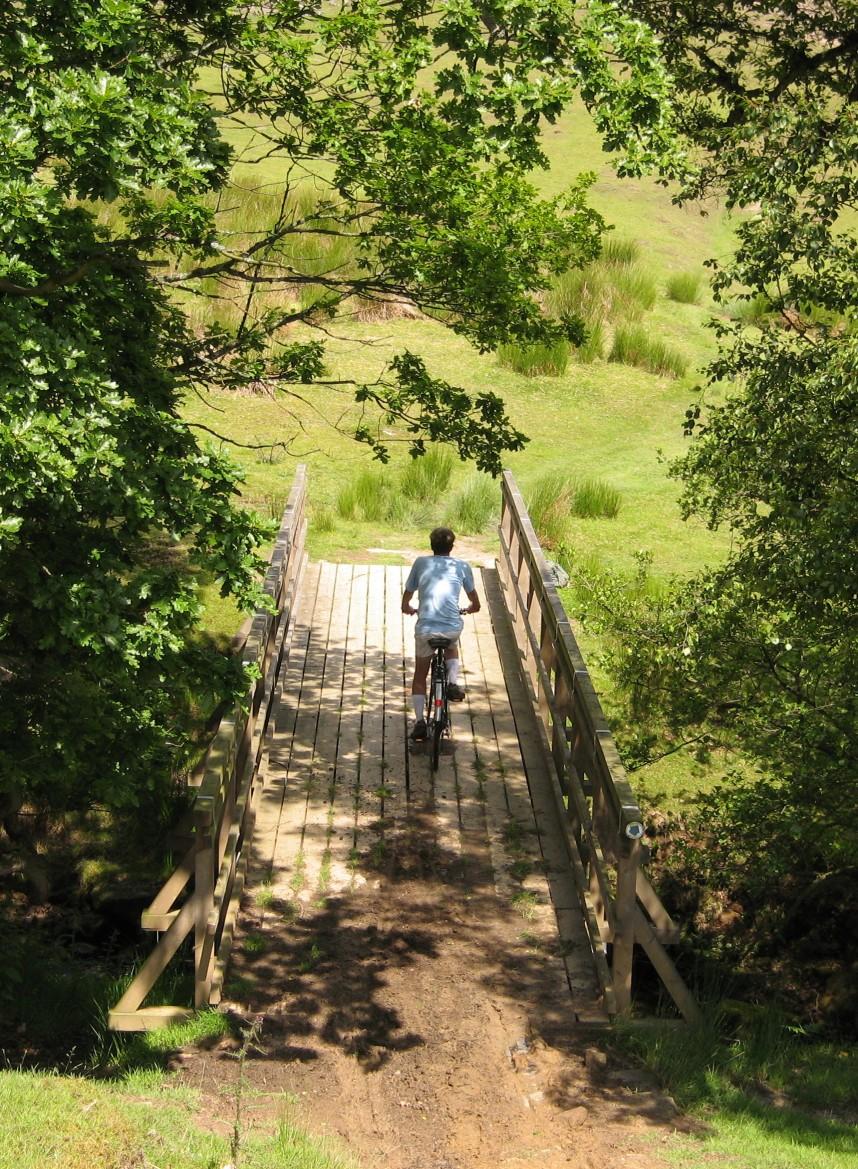 Bridge over River Dove in Upper Farndale