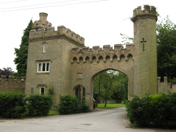 Cave Castle gatehouse