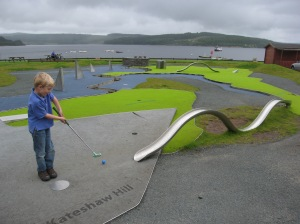 Mapping artwork - and crazy golf!