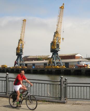 Shipyard cranes, River Wear