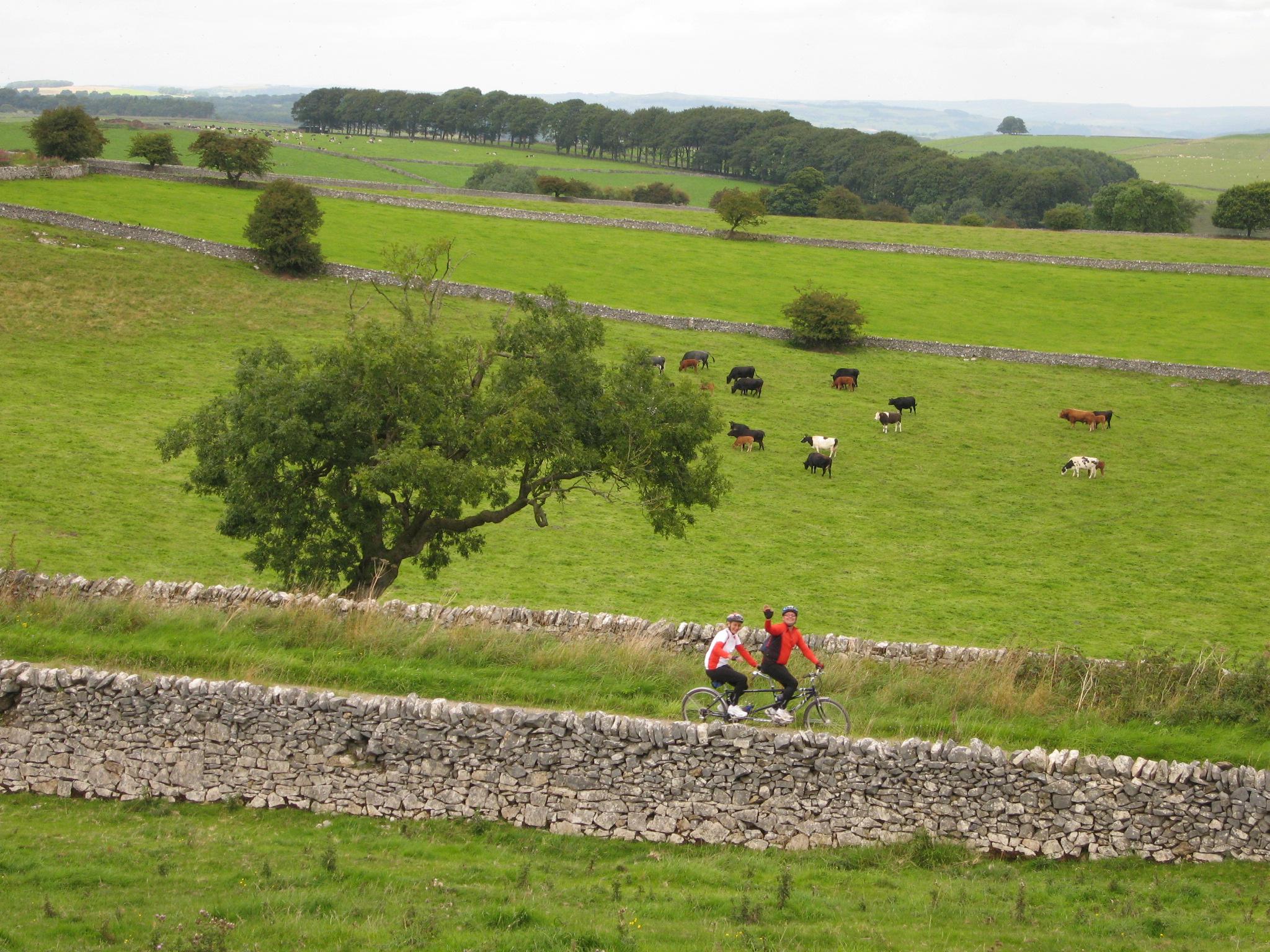 Follow line by line – Great British Bike Rides