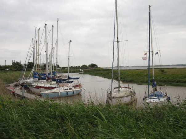 Yachts on the Humber at Brough
