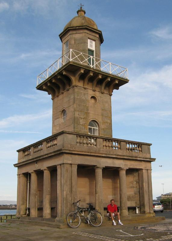 Beach lighthouse, Fleetwood