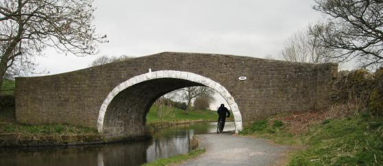 Bridge on Leeds and Liverpool Canal