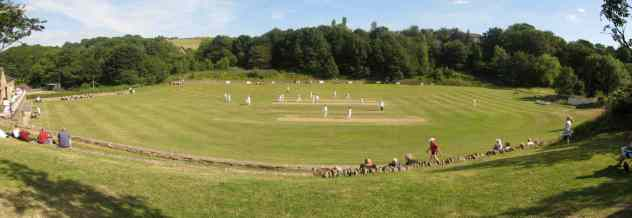 Denby Dale cricket match
