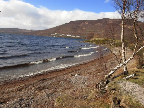 Loch Rannoch beach (near Kinloch Rannoch)