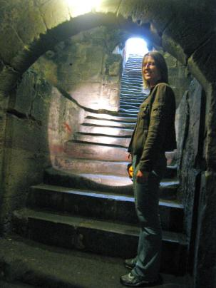 Pontefract Castle cellar