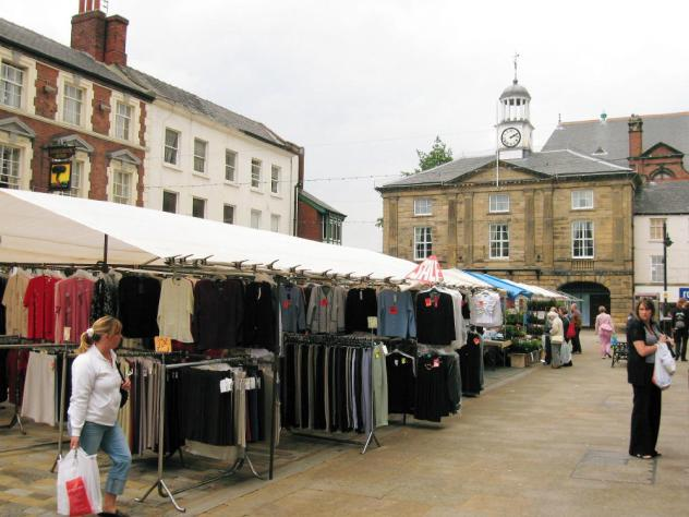 Pontefract market