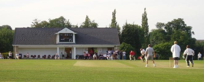 Silkstone Cricket Club in action