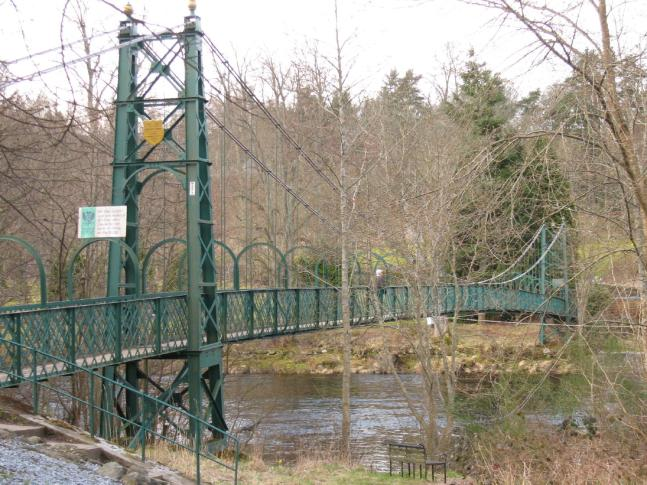 Suspension Bridge, Pitlochry