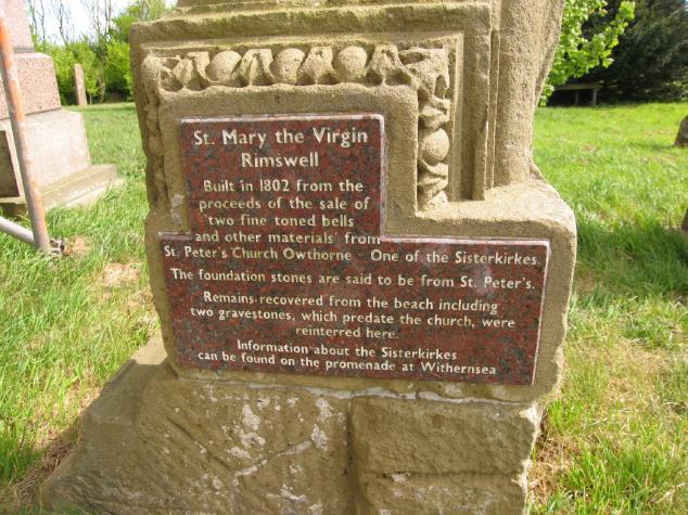 Rimswell gravestone