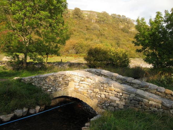Restored packhorse bridge