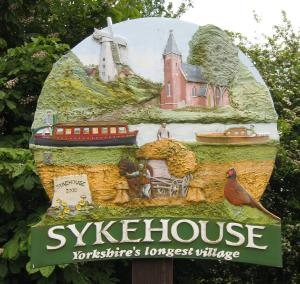 Sykehouse sign
