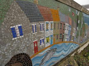 Mural at Skinningrove