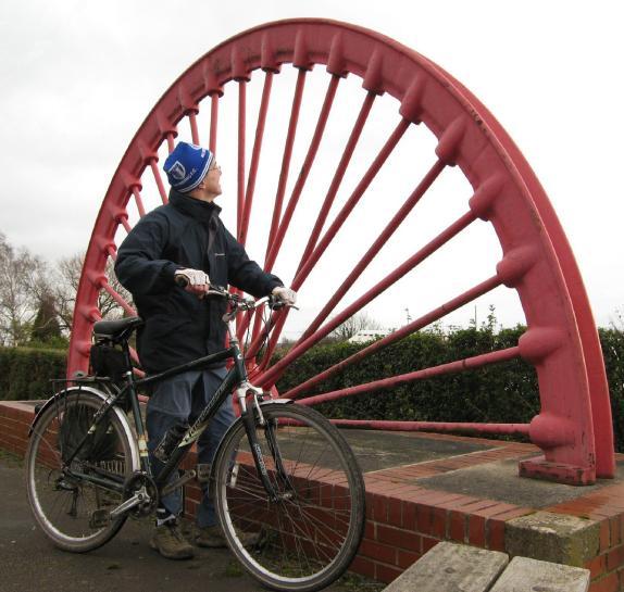 Old pit wheel, Sharlston