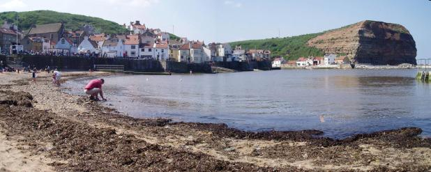 Staithes in the summertime